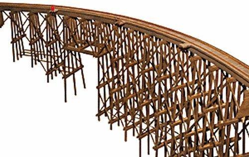 Escala H0 Kit Construcción Grandes Puente De Madera