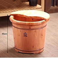 XWQ Piede Barrel / Salute piede barile / Cedar piede di barili / Household piede barile / con un coperchio di massaggio secchio 40 centimetri