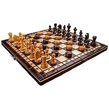 Nuovi scacchi e dama in ciliegio a lavorazione manuale dimensioni cm 35 x 35