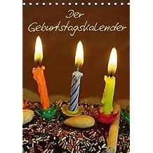 Der Geburtstagskalender (Tischkalender immerwährend DIN A5 hoch): 12 Monatsmotive für Geburtstagskinder (Tischkalender, 14 Seiten) (CALVENDO Menschen) [Kalender] [Jul 02, 2013] Kapp, Lilo