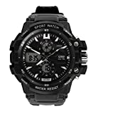 Skmei Analog-Digital Black Dial Men's Wa...