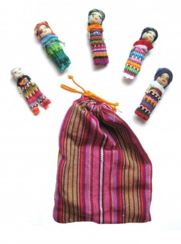 Muñecos quitapenas en bolsa (5 unidades, tamaño grande)