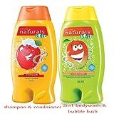 #7: Avon Natutals Kids Combo ( shampoo + 2 in 1 bodywash & bubble bath)
