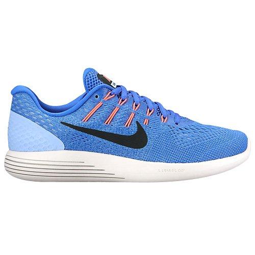 Nike Damen Wmns Lunarglide 8 Laufschuhe Blau (Med Blue/black/aluminum/hot Punch/summit White)