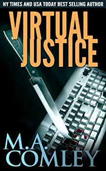Virtual Justice (Justice series Book 7) by [Comley, M A]
