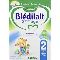 Blédina - Blédilait - Lait bébé 2ème Âge - Bag In Box 1,2 kg - Pack de 3