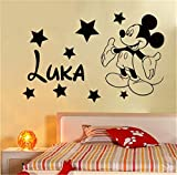 stickers muraux Mickey Mouse Sticker Mural Decal Creative Bricolage Mignon Mickey...
