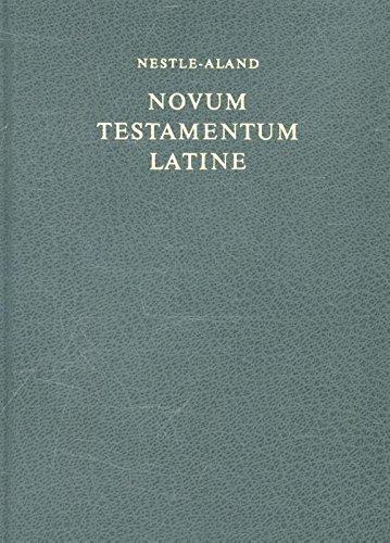 Bibelausgaben, Novum Testamentum Latine, grün (???) (Nr.5300): Textum Vaticanum