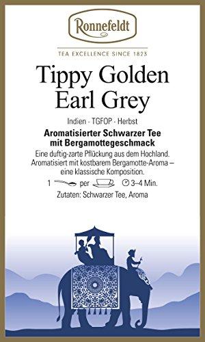 Ronnefeldt Tippy Golden Darjeeling Earl Grey, aromatisierter Schwarztee, duftig / zart,100 g