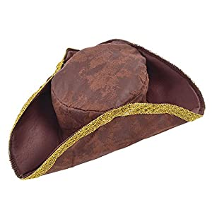 Tricorn Hat Brown/Distressed (gorro/sombrero)