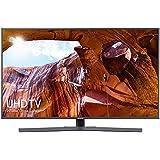 "Samsung HDR Smart 4K TV, 55"", 3840 x 2160 Pixel, Glossy Black"