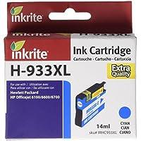 Inkrite NG Ink Cartridges (HP 933XL) for HP OfficeJet Pro 6100 6600 6700 - (CN053AE) Hi-Cap Cyan