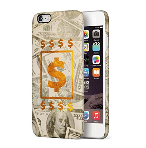 Maceste 100 Dollar Bills Cash Gold Kompatibel mit iPhone 6 / iPhone 6S SnapOn Hard Plastic Phone Protective Fall Handyhülle Case Cover