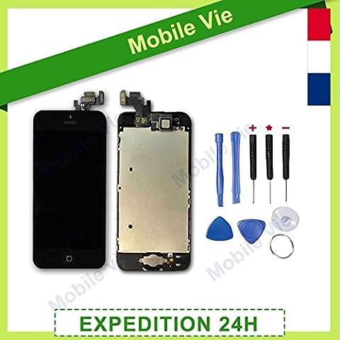 Iphone 5 Prix - Ecran LCD Retina + Vitre Tactile Tout