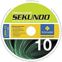 Sekundo: Mathematik für differenzierende Schulformen - Ausgabe 2009: CD-ROM zum Schülerband 10
