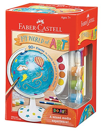 Faber-Castell Do Art, My World of Art Create & Paint in The Round Globe Craft Kit