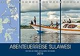 ABENTEUERREISE SULAWESI (Tischkalender 2019 DIN A5 quer): Eine Abenteuer- und Tauchreise auf der Indonesischen Insel Sulawesi (Monatskalender, 14 Seiten ) (CALVENDO Orte)