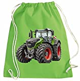 Traktor Turnbeutel Fendt Rucksack Sportbag Farbig Farbe Grün