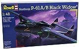 Revell 04887 - Northrop P-61A/B Black Widow Kit di Modello in Plastica, Scala 1:48