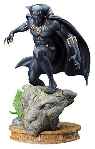 Marvel Comics MK201Black Panther Fine Art (Comic Panther Black Kostüm)