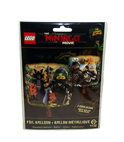 "Amscan International 3613901 ""Lego Ninjago"" Foil Balloon"