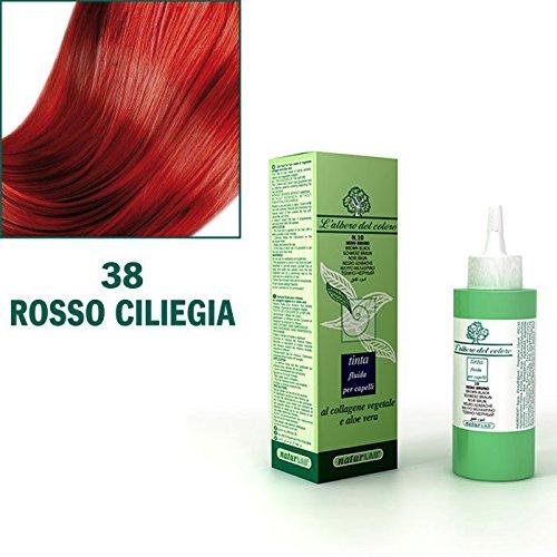 Naturlab Tinta Fluida per Capelli n.38 Rosso Ciliegia