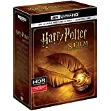 Harry Potter - All 8 Movies Collection from Years 1 to 7 (4K UHD & HD) (16 Disc Box Set) includes Official Harry Potter Merchandise