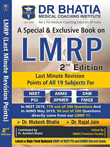 LMRP - 2nd EDITION (Last Minute Revision Points) - 2019 By DBMCI