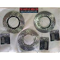 Kit complet disques plaquettes de frein rMS Yamaha T-Max 5002008/2011