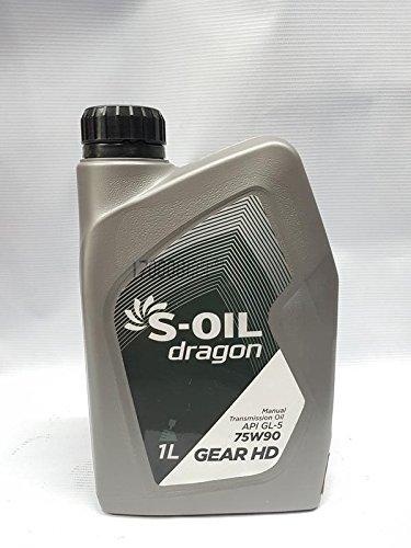 S OIL DRAGON GEAR HD Synthetic PETROL/DIESEL GEAR OIL for ALL CARS/SUVS/TRUCKS/BUS (1L, Pack of 1L)