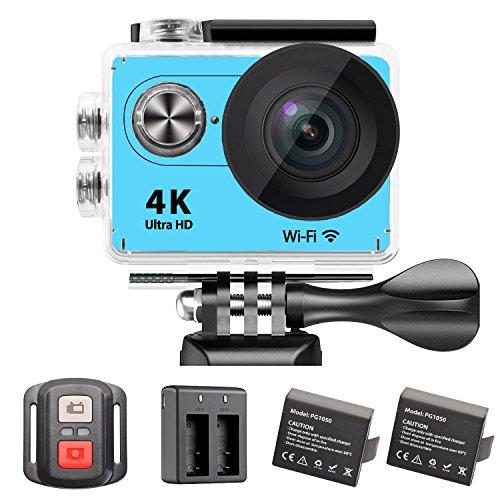 Cmaras-Deportivas-YDI-4K-Ultra-HD-1080P-WiFi-Camara-Impermeable-de-Deportes-Bajo-el-agua-Cmara-de-Accin-Cam-Videocmara-20-Inch-Pantalla-12MP-170-Grado-Lente-Gran-Angular-con-Control-Remoto-y-21050-mAh