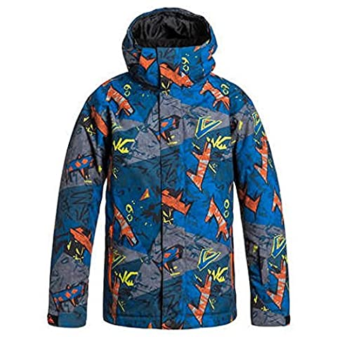 Quiksilver Mission Plain Veste Garçon Ghetto Hero FR : 10