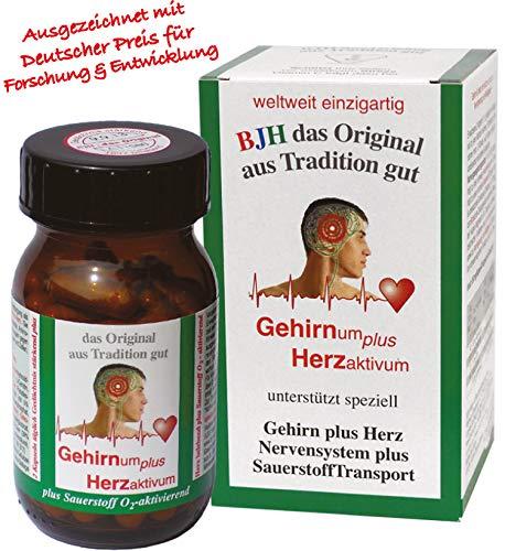 rzaktivum Kapseln - unterstützen Gedächtnis verbessern und Nerven stärken - deutsches Patent ()
