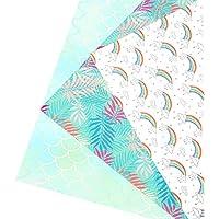 SUPVOX Ripsband Geschenkpapier B/änder Regenbogen Wolken gedruckt DIY Satinb/änder f/ür Handwerk Verpackung Haarschleife B/änder Hochzeit Geburtstag Party Dekorationen