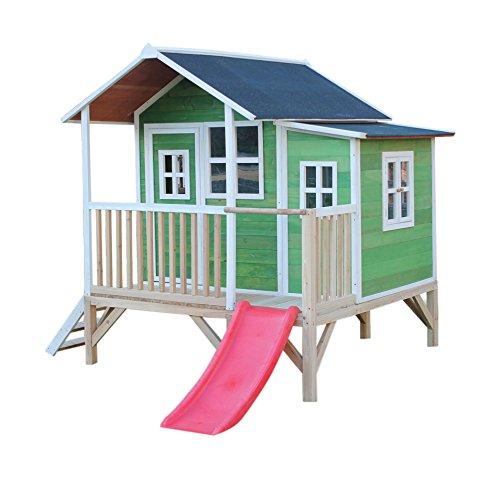 EXIT toys.com EXIT Loft 350 Holzspielhaus - grün