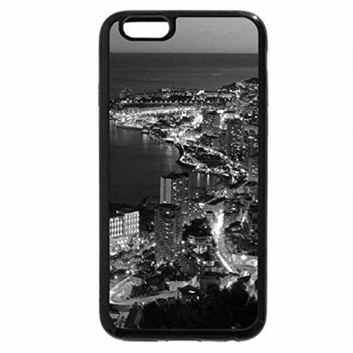 6S-Cover per iPhone Plus, iPhone 6 Plus Case & bianco (nero) Fairmont Main-Monte Carlo, Monaco