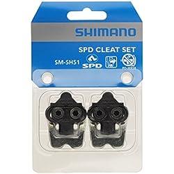 SHIMANO Pedalplatten 'SM-SH51' SB-verpackt, passend für PDM535/959/747/525/323/636/525/434, Paar