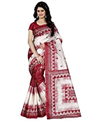 Trendz Taffeta Silk Floral Print Saree(TZ_1026_A)