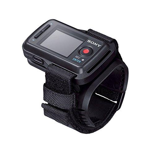 Sony RM-LVR2 Wasserfeste Fernbedienung für das Handgelenk mit LC Display für Action Cam/Kamera schwarz