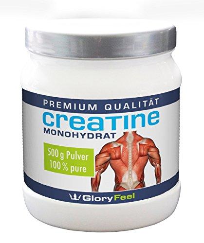 Creatine - Poudre de monohydrate de créatine - 500 grammes pour sept mois -y compris Amazon 30 jours Satisfait ou Remboursé