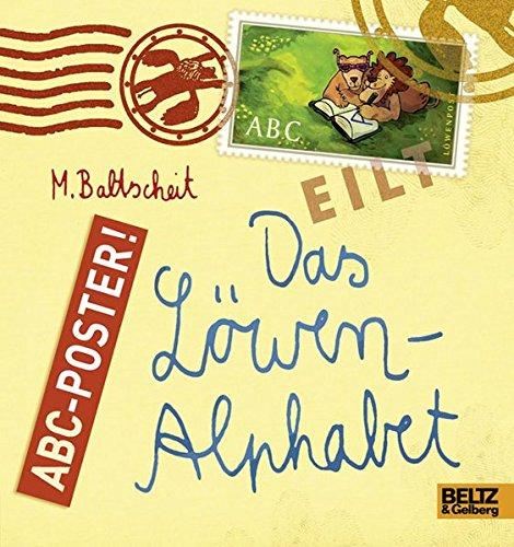 Das Löwen-Alphabet: ABC-Poster