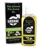 Urbane Men Pre-Shave Oil 100ml (Olive & Coconut Oil) Alcohol Free Natural Oil