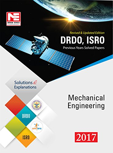 DRDO, ISRO: Mechanical Engineering- Previous Solved Papers - 2017