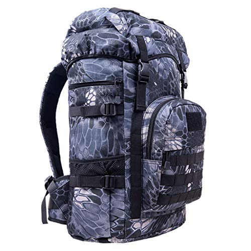 GAO XING SHOP Mountaineering backpack Outdoor Mountaineering Bag 50L Men  And Women Shoulder Bag Travel Large 912356d78c