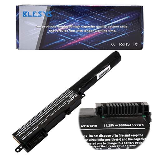 BLESYS - 11.25V/2600mAh Batería ASUS A31N1519 Reemplazo de la batería del portátil Asus X540 X540A X540A X540A X540SA X540A X540A Serie