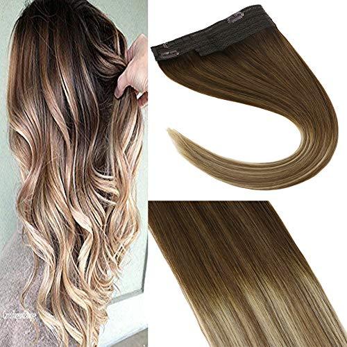 Sunny extension capelli veri filo invisibile & 18