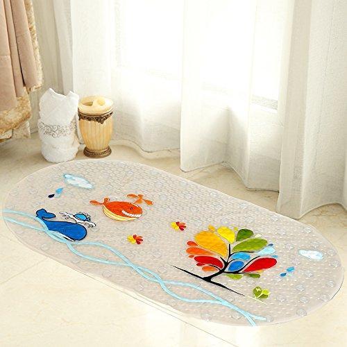 Slip da bagno di sicurezza a prova di tappetini di PINServizi igienici wc doccia Vasca da bagno della portaIl pvcImpermeabile pad del pedale,39*69cm,2