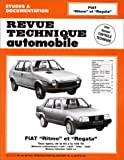 Fiat Ritmo et Regata, tous types de la 60 à la 105 TC, moteurs carburateurs 1100 1300 1500 1600