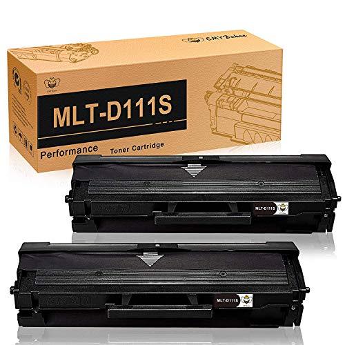 D111S MLT-D111SCartucce a Toner di Ricambio CMYBabee Ricambio perMLT-D111 111S Compatibili con Stampanti Samsung 111 Xpress SL-M2020 SL-M2022 SL-M2026 SL-M2070 SL-M2020W SL-M2022W SL-M2026W 2 Nero