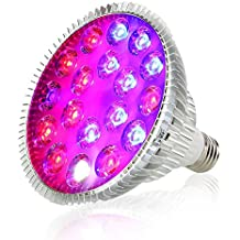 Derlights Led Grow Light Bulb, Full Spectrum Grow Lamp (54)